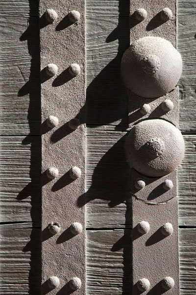 Photo de Close-up of one of the many doors of Nijo CastleKyoto - Japon
