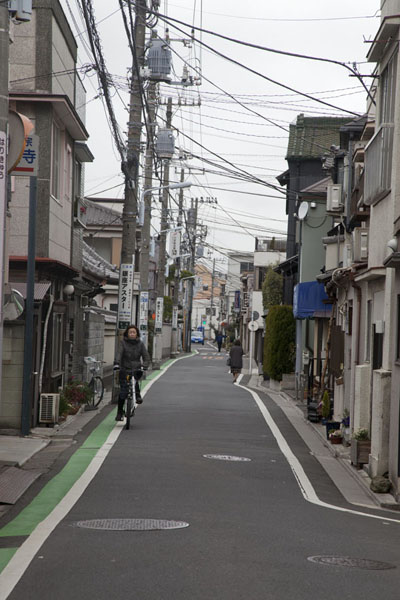 Picture of One of the many small streets in the Nippori neighbourhoodTokyo - Japan