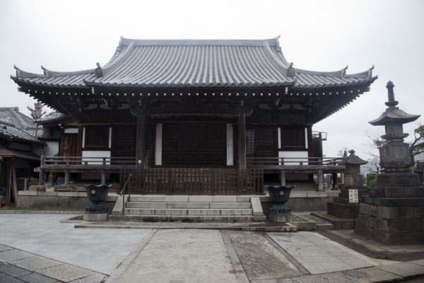 Main hall of the Kannon-ji Temple | Nippori | Japan