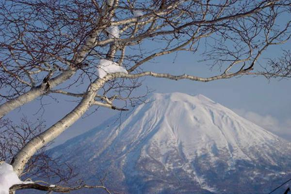View from the slopes | Niseko Skiing | Japan