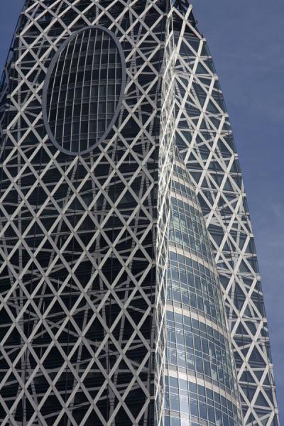 Top of Mode Gakuen Cocoon Tower | Nishi Shinjuku architecture | Japan
