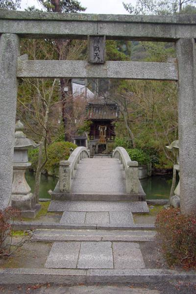 的照片 Bridge in the Eikando temple complex京都 - 日本