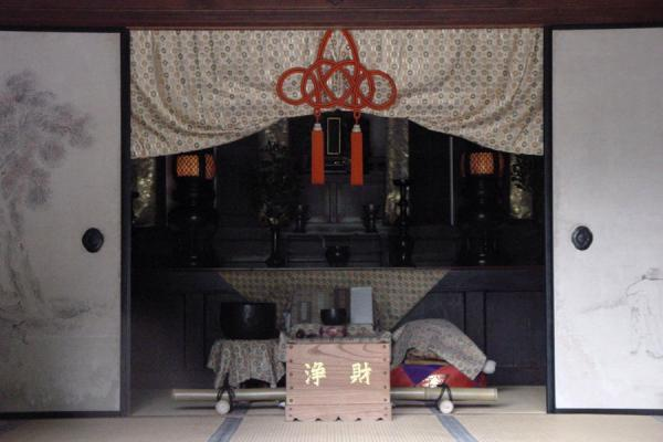 Picture of Buddhist Hall in Ginkakuji Temple