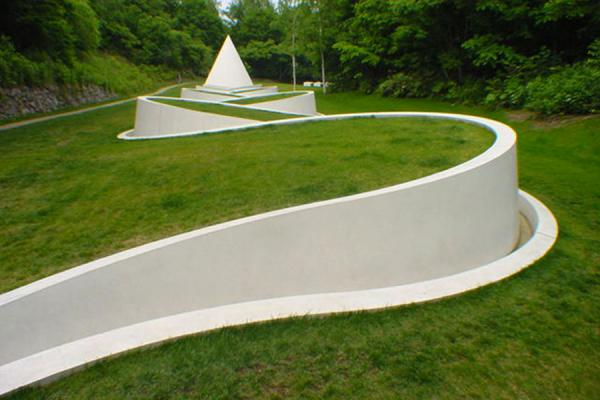 Way to the Hidden Garden (Dani Karavan) | Sapporo Art Park | Japan