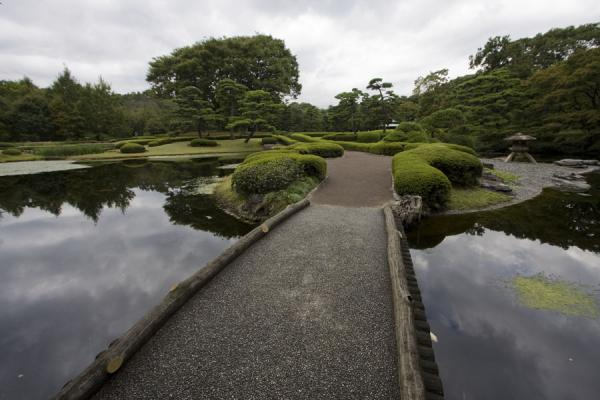 Picture of Imperial Gardens (Japan): Bridge in the East Imperial Gardens