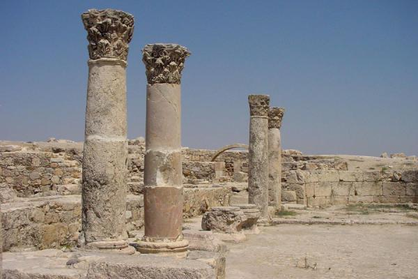 The remains of a Byzantine church | Amman citadel | Jordan