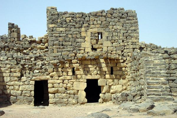 Picture of Desert Castle Loop (Jordan): Qasr al-Azraq castle near Amman
