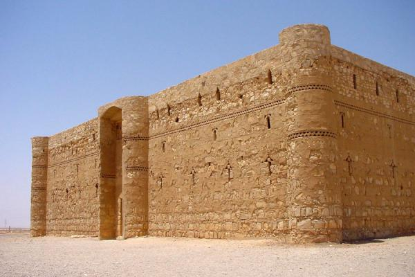Picture of Desert Castle Loop (Jordan): Qasr al-Kharaneh near Amman