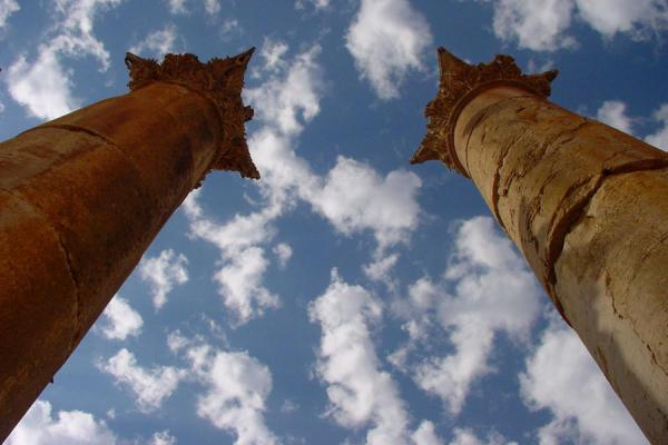 Pillars of the Temple of Artemis | Jerash | Jordan