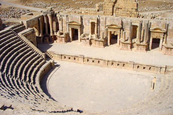 The South Theatre from above | Jerash | Jordan