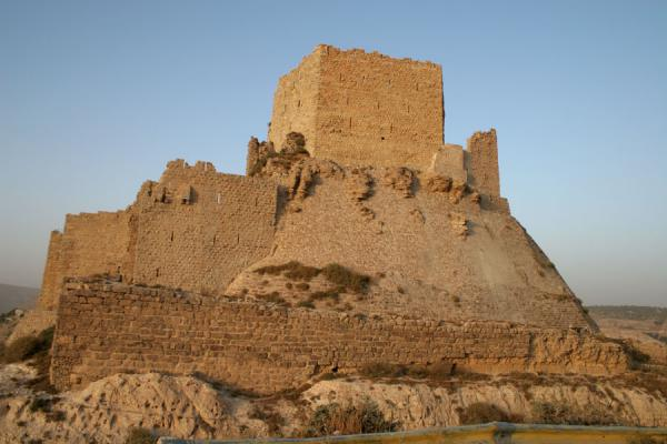 Kerak Castle seen from a distance | Kerak | Jordan