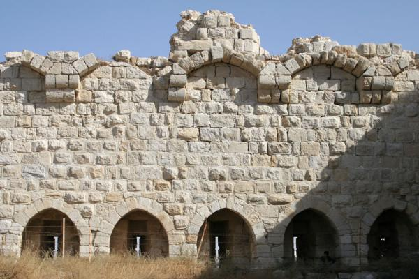Picture of Remains of wall of Kerak Castle