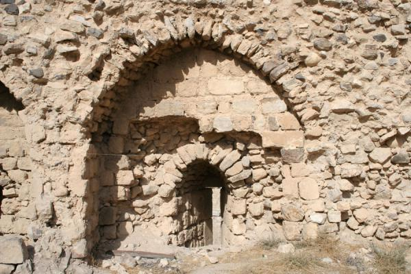 Picture of Some of the many arches in Kerak CastleKerak - Jordan