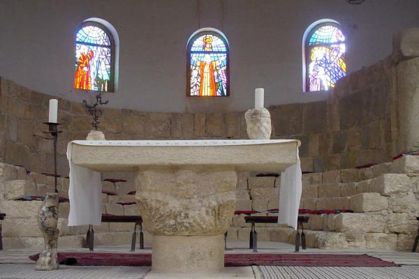 The monastery is still used for services | Mount Nebo | Jordan