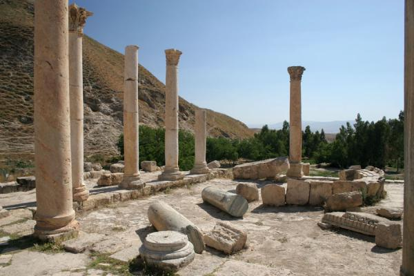 Remains of the main church of Pella | Pella | Jordan