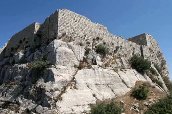 Picture of Good view of the foundations of Qalat ar-RabadAjloun - Jordan