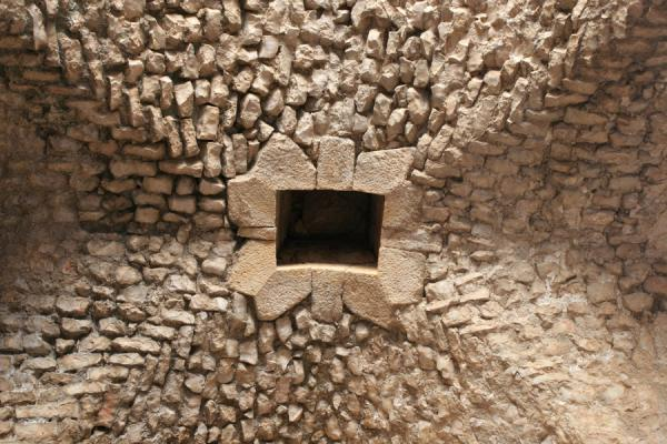 Picture of Ceiling of one of the halls of Qalat ar-RabadAjloun - Jordan