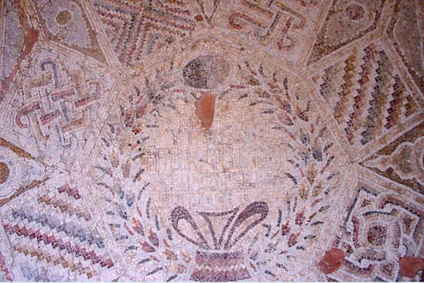 Picture of Umm Qais (Jordan): Mosaics in Umm Qais museum