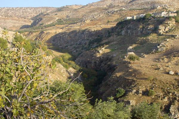 Looking into the Wadi Seer valley, towards Amman | Wadi Seer | Jordan
