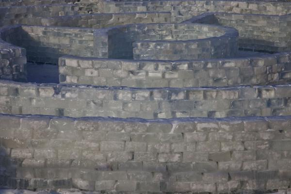 Photo de Kazakhstan (Labyrinth made of ice in the Ice Town in Astana)