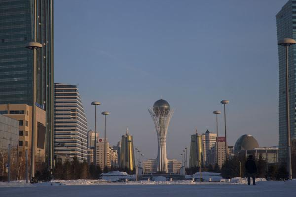 Baiterek Tower is the centrepiece of Nurzhol boulevard | Astana modern architecture | Kazakhstan