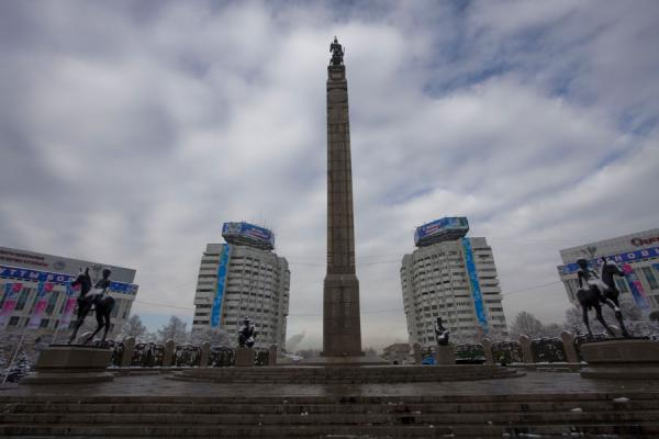 Foto di Monument of Independence on Republic SquareMonumento all'Indipendenza - Kazachistan