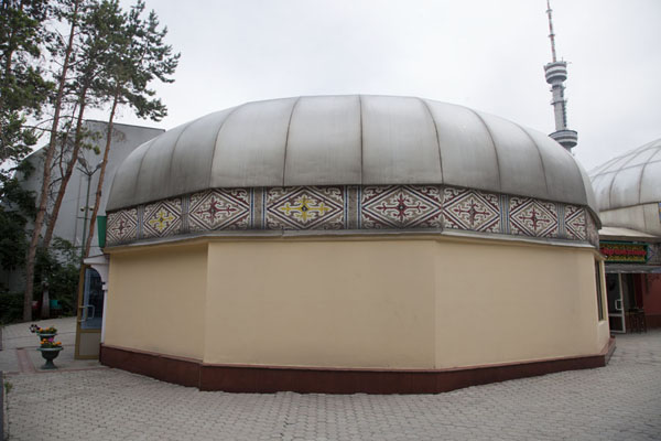 Picture of Yurt-shaped restaurant on top of Kök TöbeAlmaty - Kazakhstan