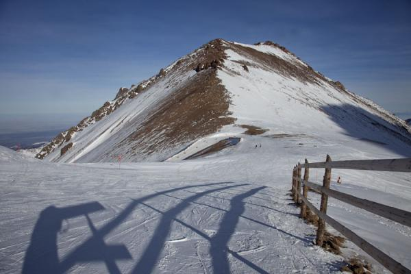 The top of the Shymbulak ski area: Talgar Pass | Shymbulak skiing | Kazakhstan