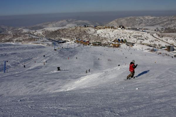 Overview of the Tabagan ski area | Tabagan Skiing | Kazakhstan