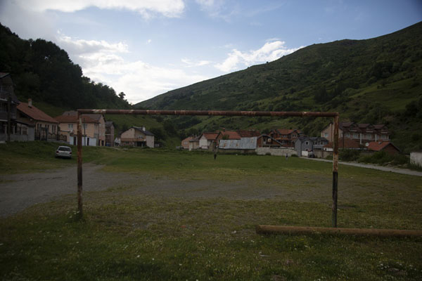 Picture of The football field of BrodBrod - Kosovo