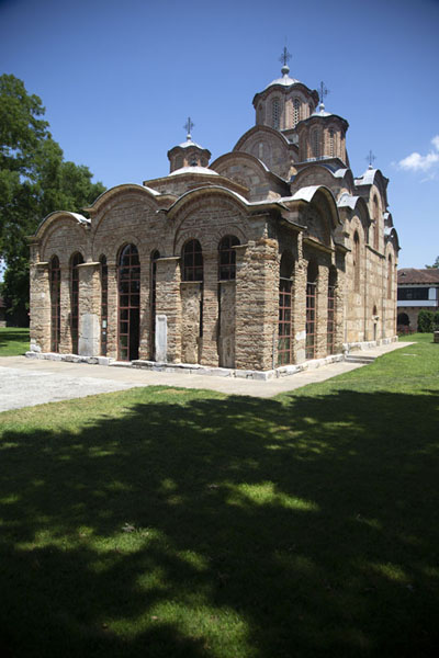 Picture of The church of the monastery of GračanicaGračanica - Kosovo