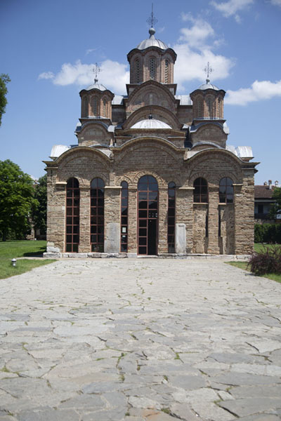 Picture of Frontal view of the monastery of GračanicaGračanica - Kosovo