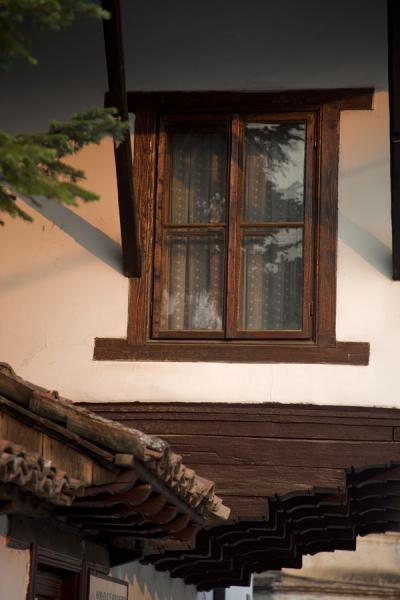 Bay window in a traditional house in Pristina | Pristina | Kosovo