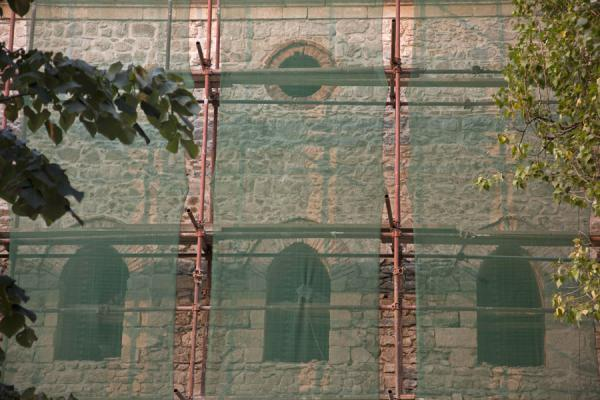 Picture of The Carshi mosque is under badly needed reconstruction efforts - Kosovo - Europe