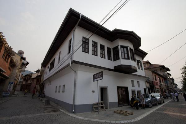 Traditional white house, restored, near the river | Prizren | Kosovo