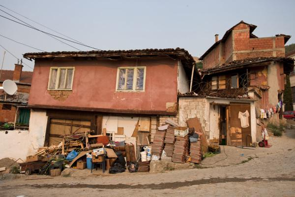 Picture of Prizren (Kosovo): Some of the old houses on the way up to the Kalaja