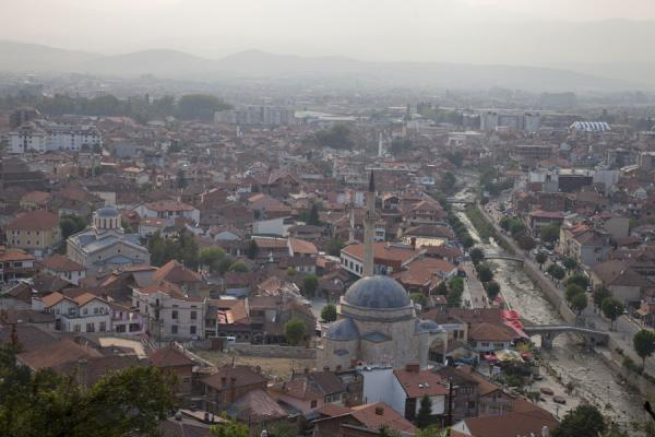 Picture of Prizren (Kosovo): View of the city of Prizren from the Kalaja, or fortress