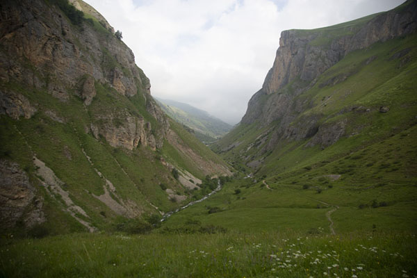 Panorama of the lower valley with the Brodski kamen on the right -  - 欧洲