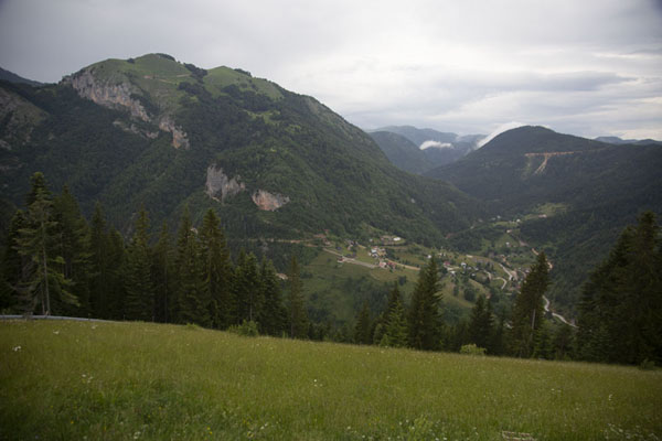 The mountainous landscape at the highest part of Rugova canyon | Rugova canyon |