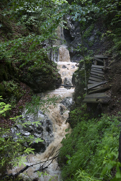 Picture of A small waterfall in the canyonRugova - Kosovo
