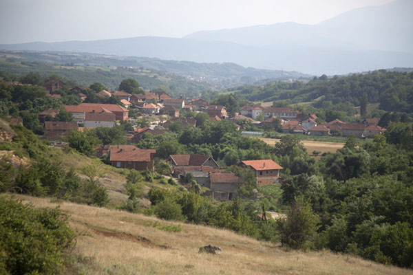 Overview picture of Velika Hoča -