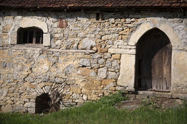 Close-up of one of the older houses in Velika Hoča | Velika Hoča | Kosovo
