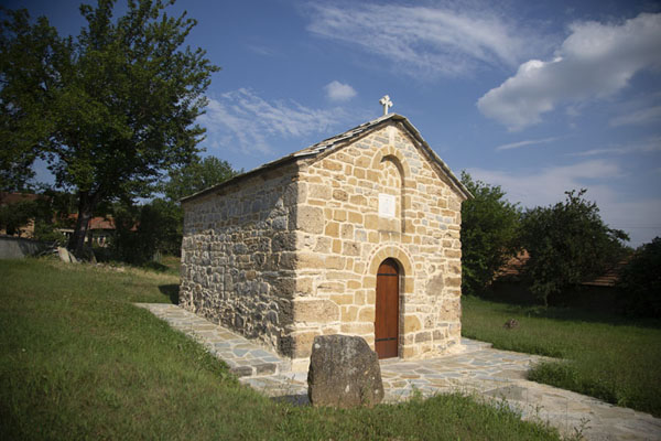 Picture of One of the many small churches of Velika HočaVelika Hoča - Kosovo