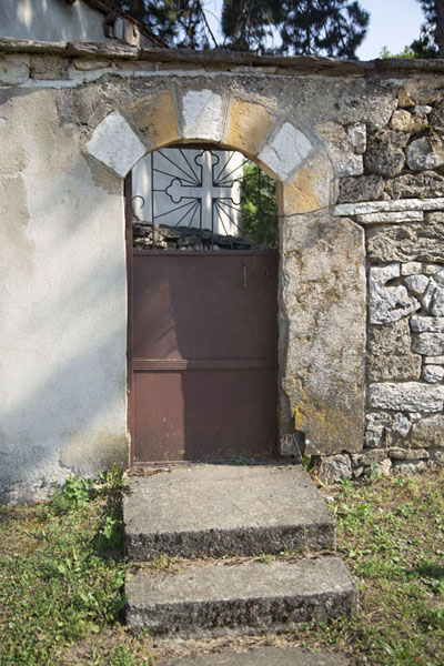 Picture of One of the doors of Velika HočaVelika Hoča - Kosovo