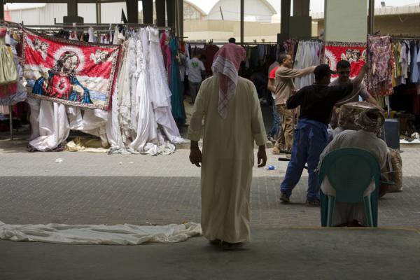 Even Jesus is present at the Friday Suq | Kuwait Friday Suq | Koeweit