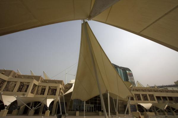 The building of the Scientific Center with sails, seen from the outside | Scientific Center | Kuwait