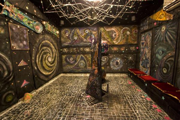 Surrealistic room in the House of Mirrors | House of Mirrors | Kuwait