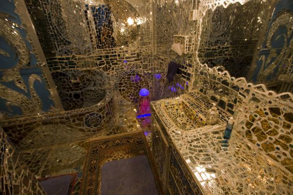 Bathroom of the House of Mirrors | House of Mirrors | Kuwait