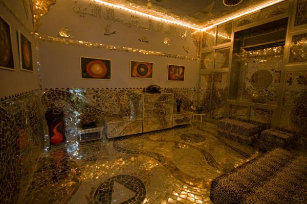 Living room in the House of Mirrors | House of Mirrors | Kuwait