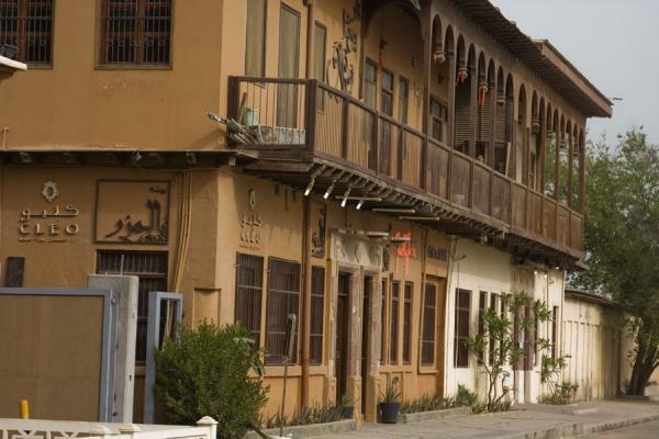 Picture of Old Kuwait (Kuwait): Row of old houses in Kuwait